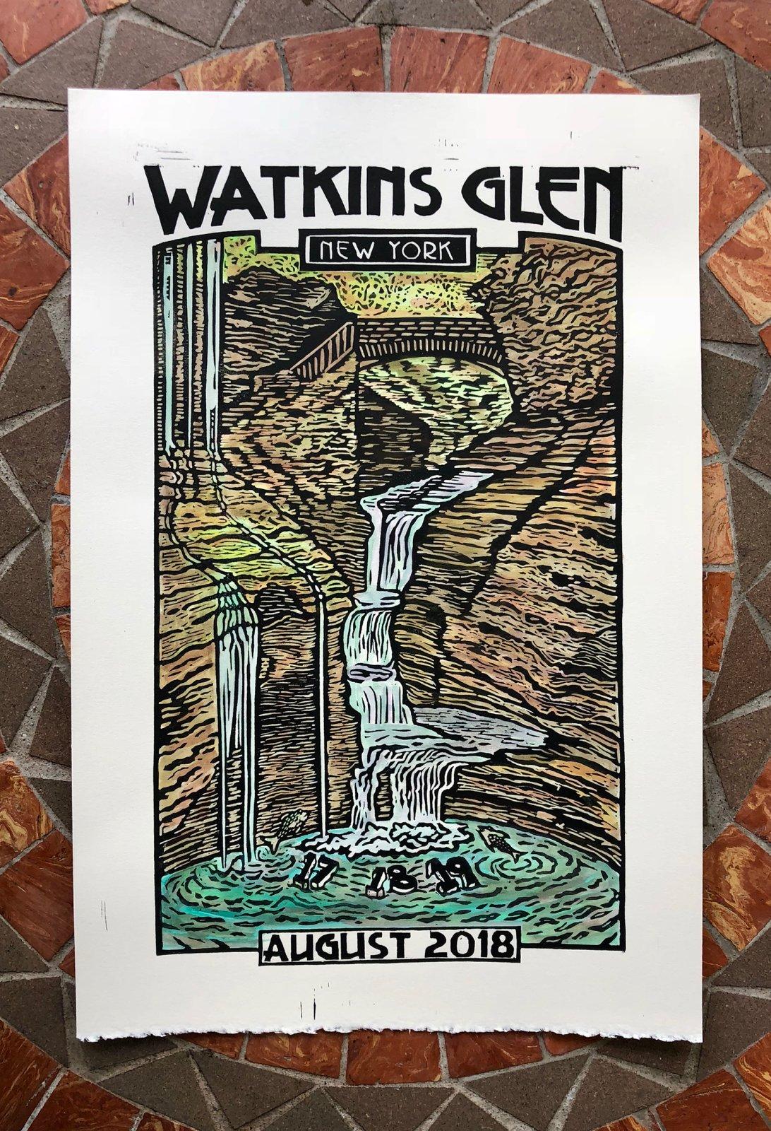 Image of Watkins Glen print