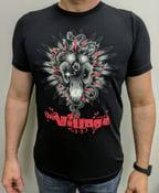 Image of Bella & Canvas Black Men's T-shirt Village Design