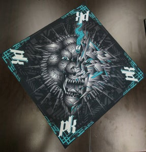 Image of PK Wolf Design Bandana