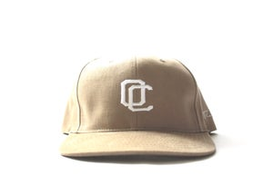 Image of OC CURVED BILL HAT (TAN)