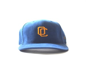 Image of OC CURVED BILL (GOLD & BLUE)