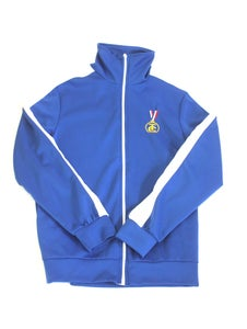 Image of BLUE TRACK JACKET