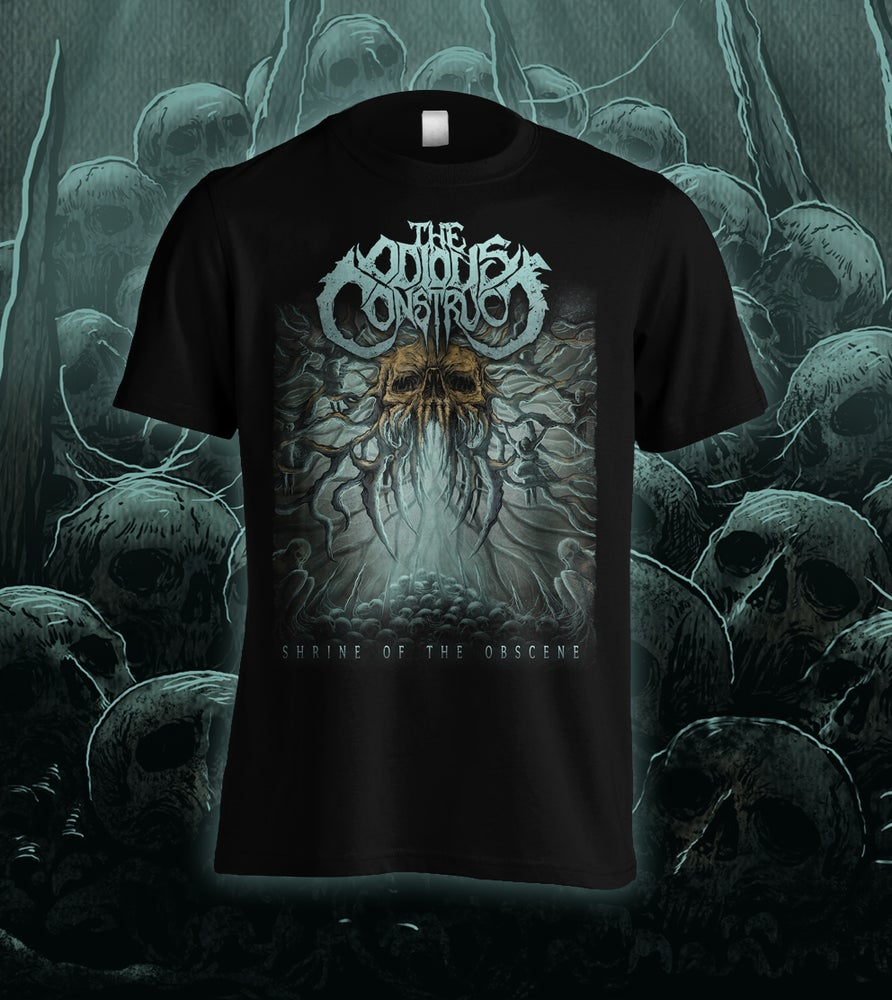 Image of THE ODIOUS CONSTRUCT - Shrine of the Obscene - Tee