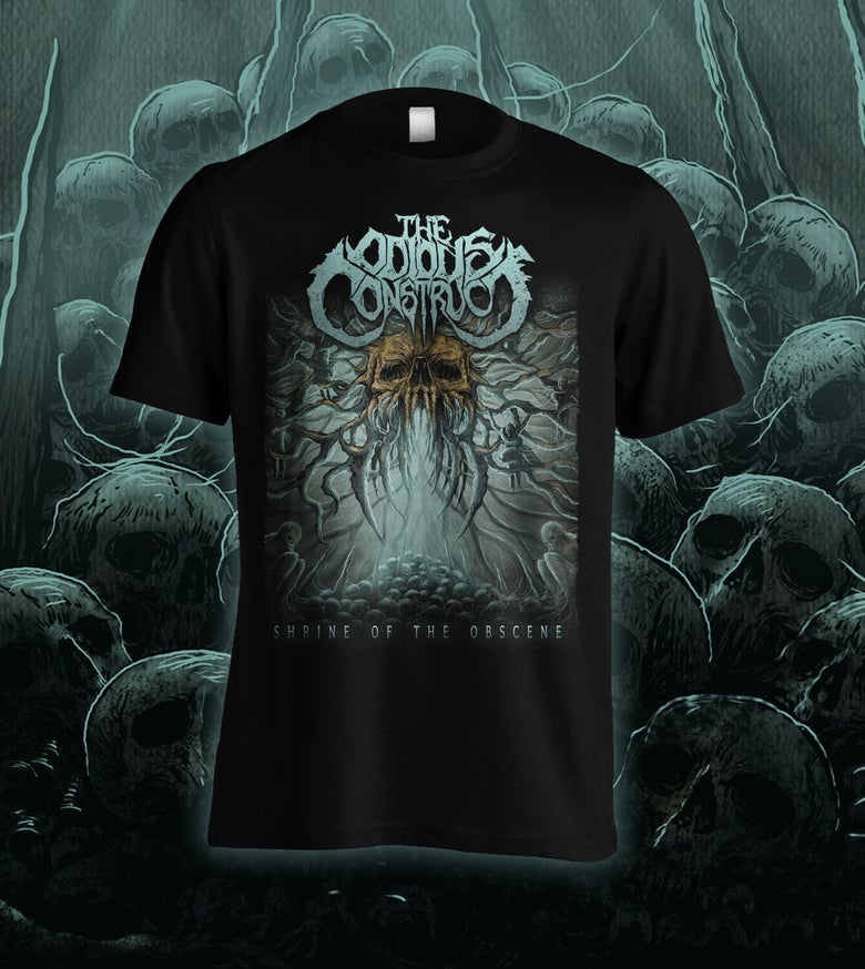 Image of THE ODIOUS CONSTRUCT - Shrine of the Obscene T-Shirt