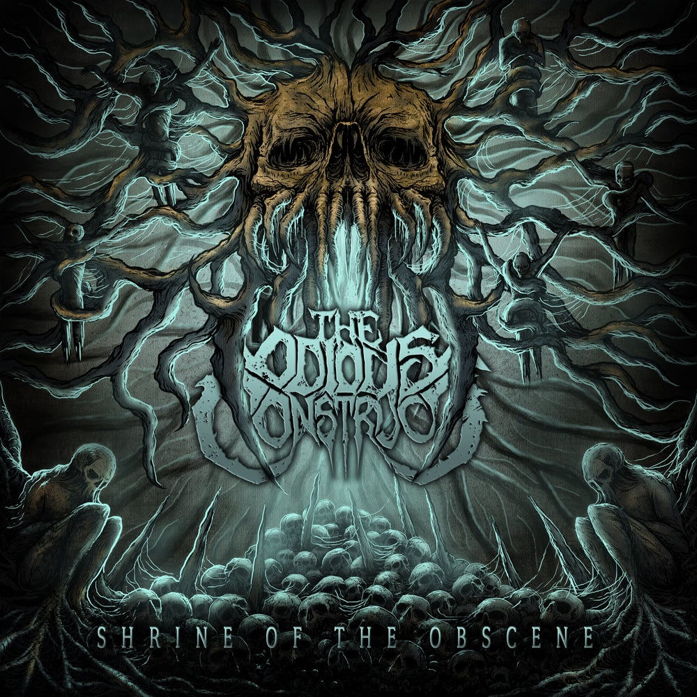 Image of [PRE_ORDER] THE ODIOUS CONSTRUCT - Shrine of the Obscene - CD