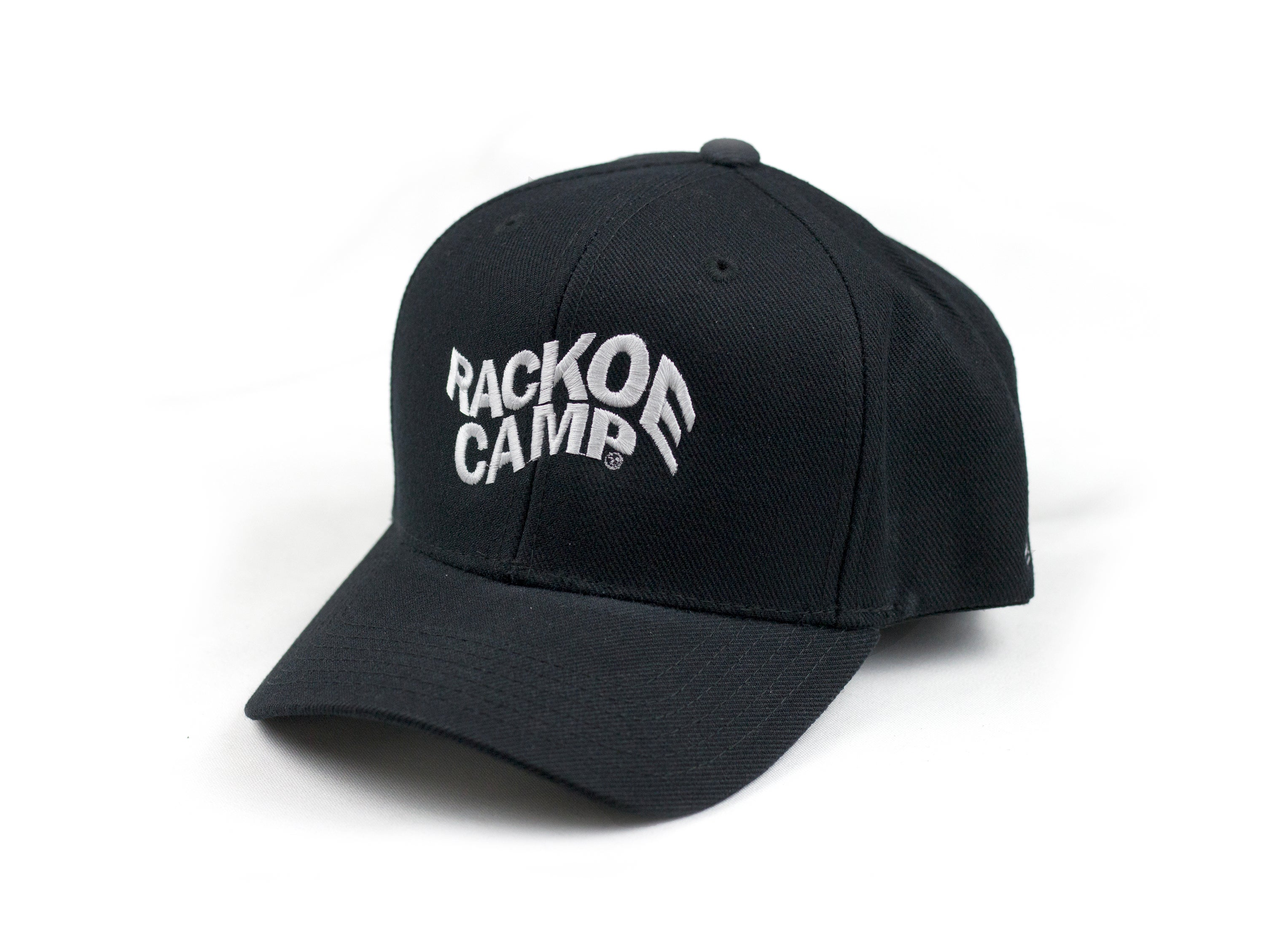 Image of Black Snapback Hat *KIDS SIZE* RACKOECAMP \u2014