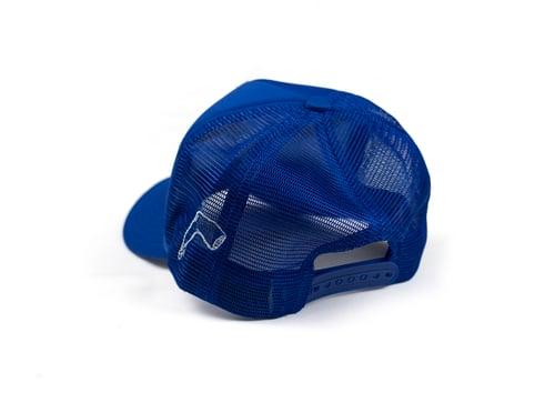 Image of Blue Trucker Hat
