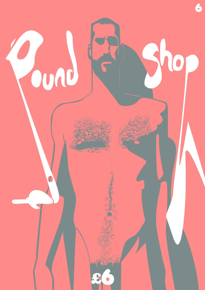 Image of POUND SHOP: (Hairy) Back Issues