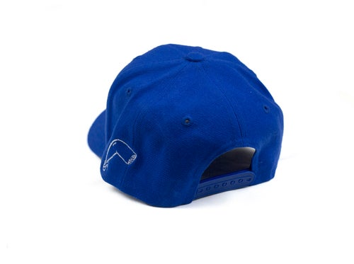 Image of Blue Snapback Hat