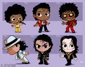 Image of Evolution of Michael Jackson