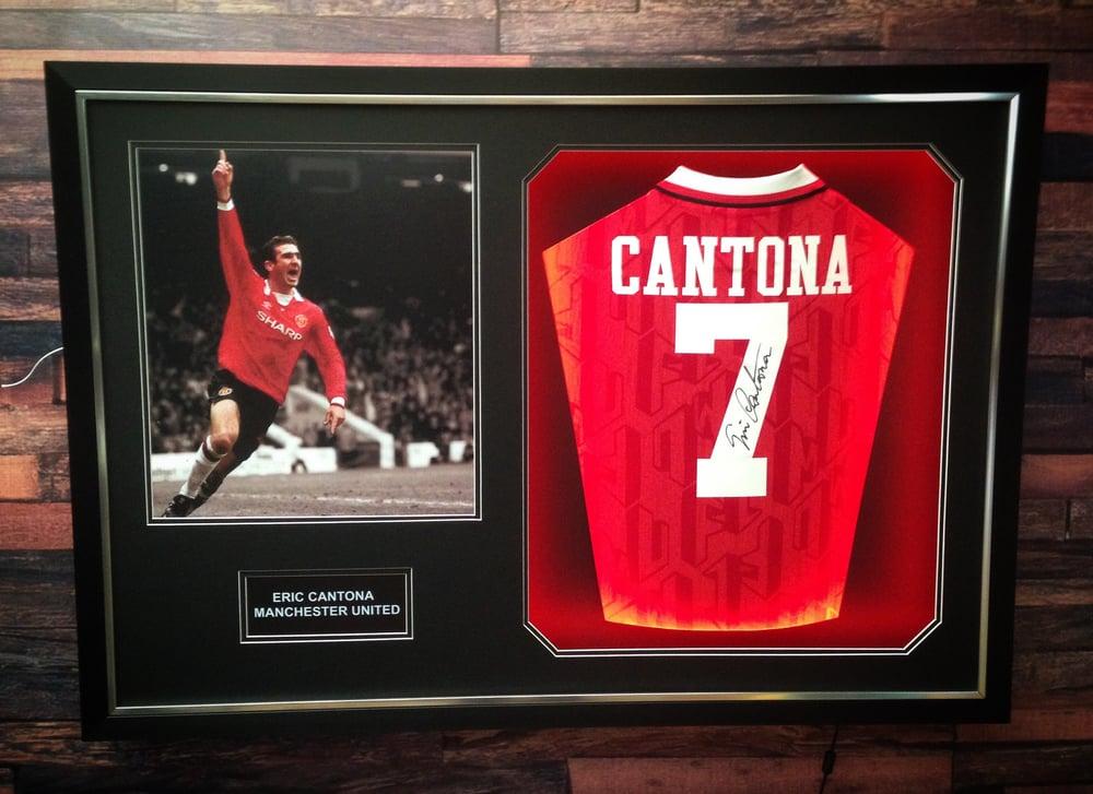 Image of Eric Cantona signed shirt