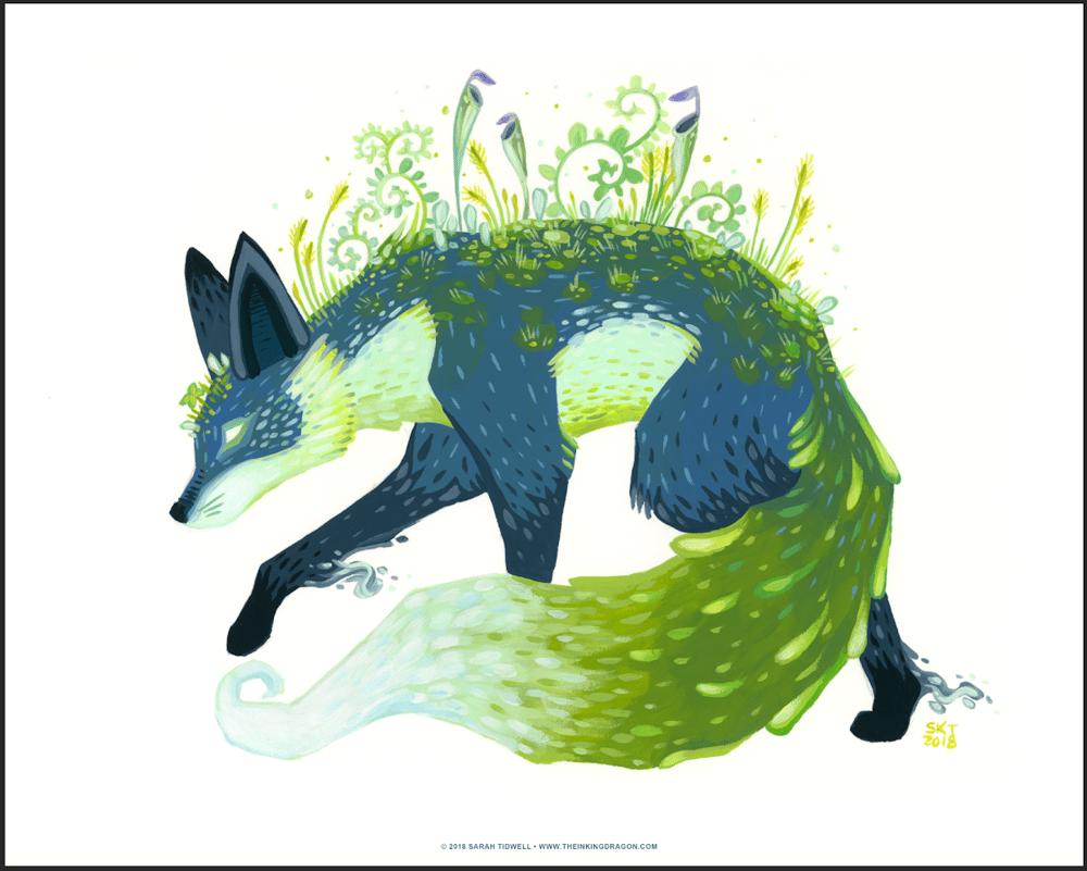 Image of Moss Fox - Print