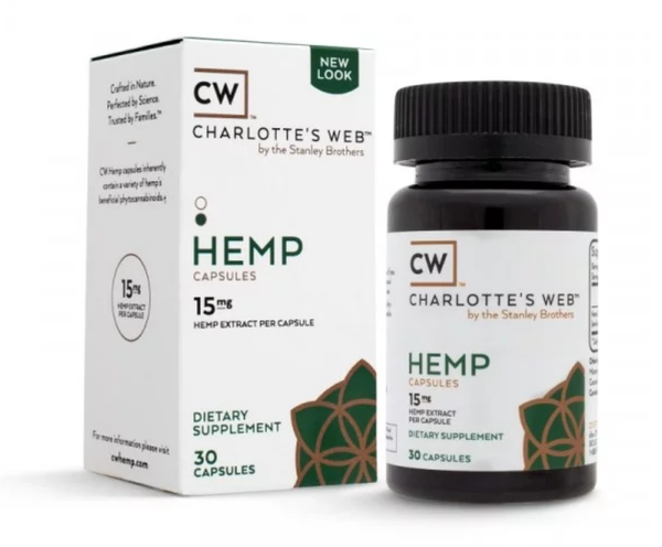 Image of HEMP CAPSULES 15mg