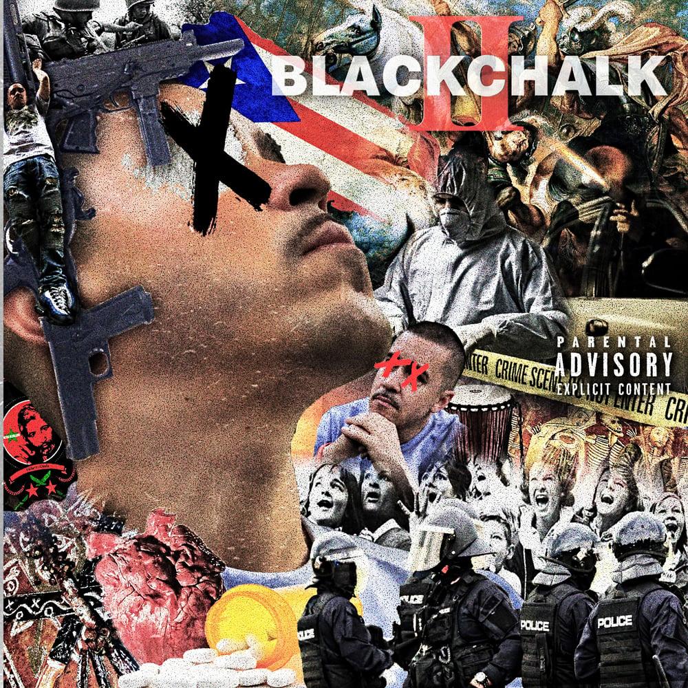 Image of BLACKCHALK2 (PHYSICAL ALBUM)*PRE-ORDER