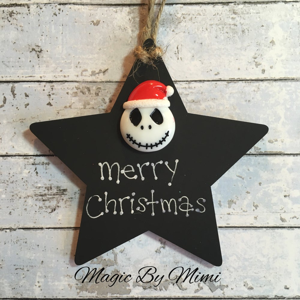 Image of Christmas Jack wooden star