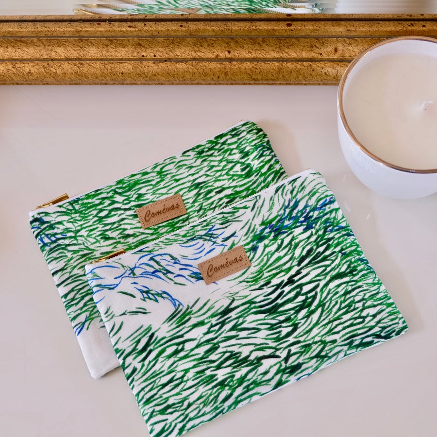 Image of Pochette Flore - Forest wave