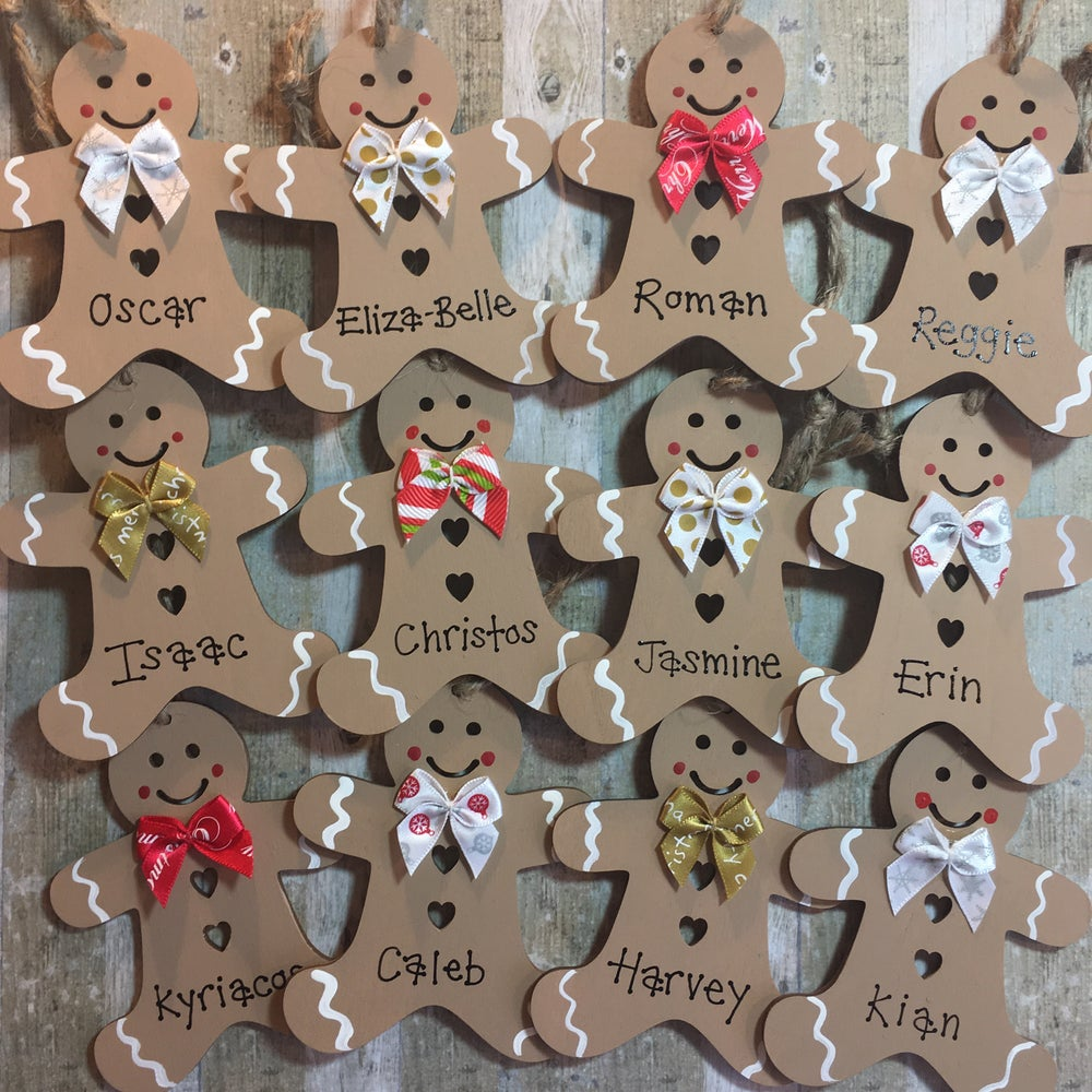 Image of Gingerbread Man decoration