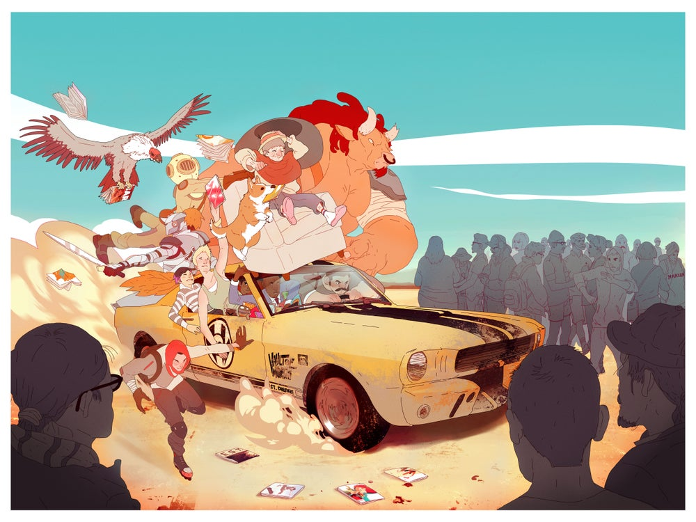 Image of Free Comic Book Day Illo