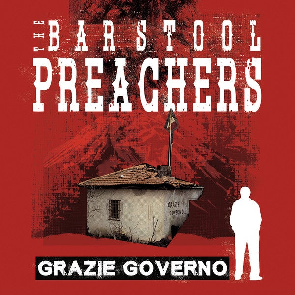 Image of The Barstool Preachers - Grazie Governo LP (splatter vinyl)