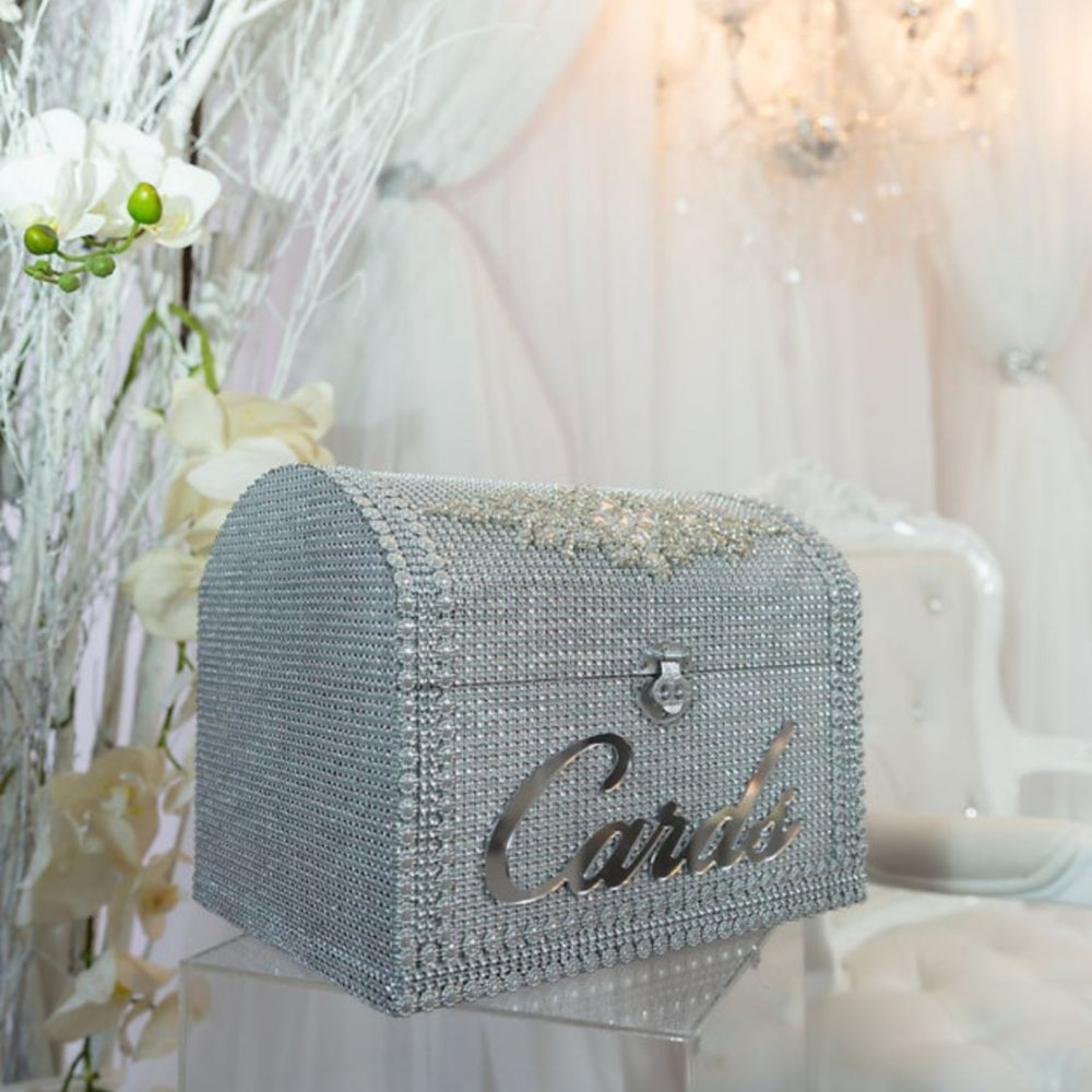 Bling Card Box (Available in other Colors)