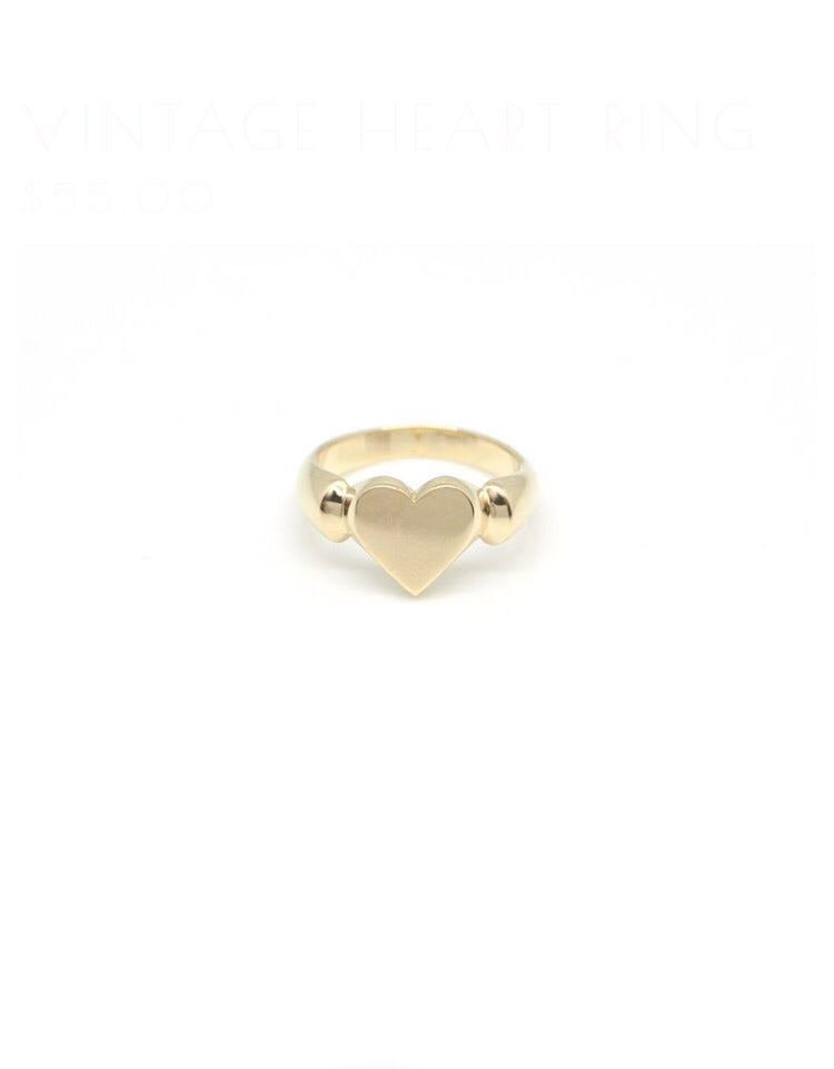 Image of Vintage Heart Ring