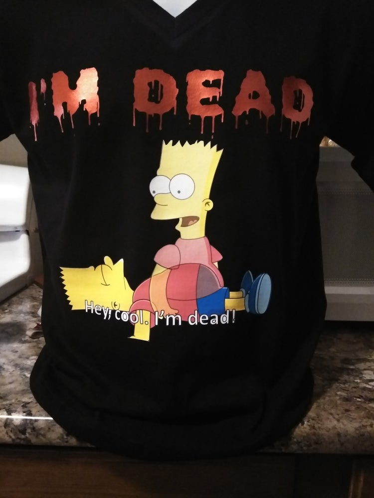 Image of MEN'S I'M DEAD TEE