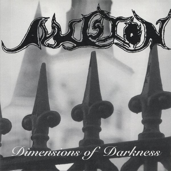 "Image of AVULSION ""Dimensions of Darkness"" CD (2018 Reissue)"