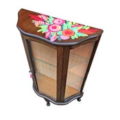 Image of Mexican Floral Cabinet *SAMPLE SALE*