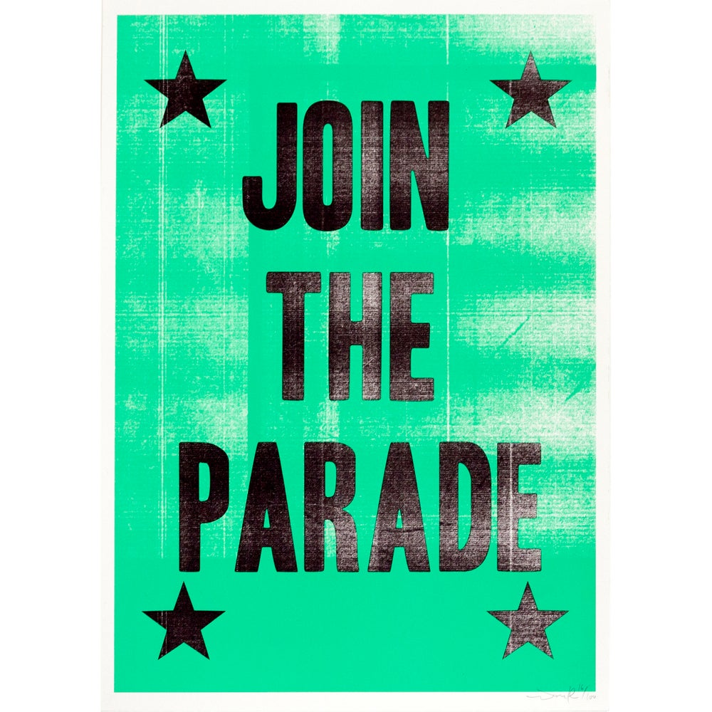 Image of Join The Parade (Spearmint Green)