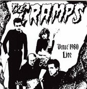 "Image of 7"" EP. The Cramps : Venue 1980 Live.  GREEN Vinyl."