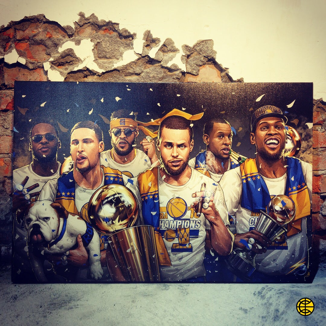 "Image of ""2018 CHAMPS"" CANVAS"