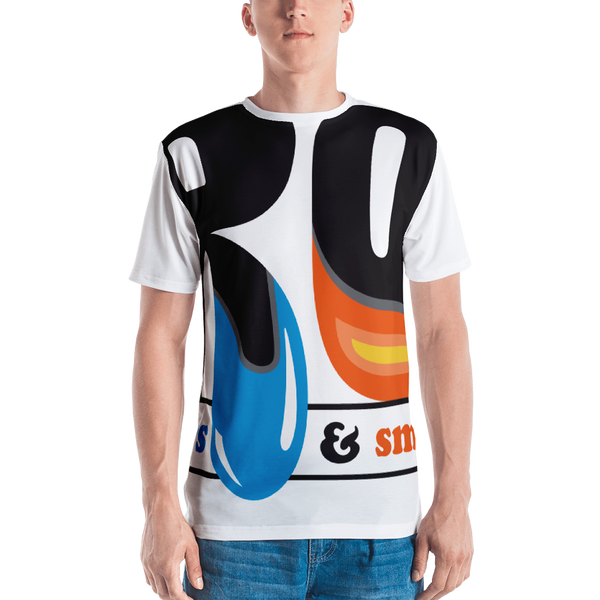 Image of All-Over Cut & Sew Men's T-Shirt