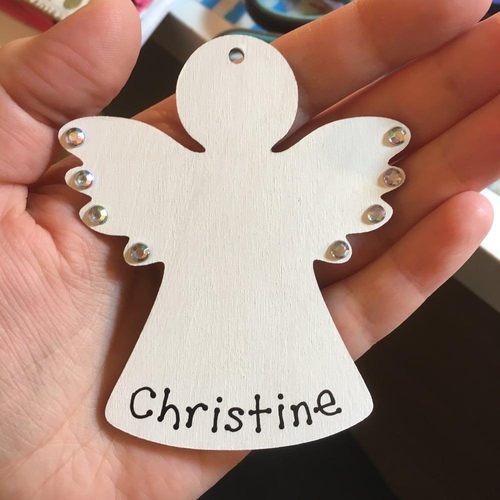 Image of White Angel decoration
