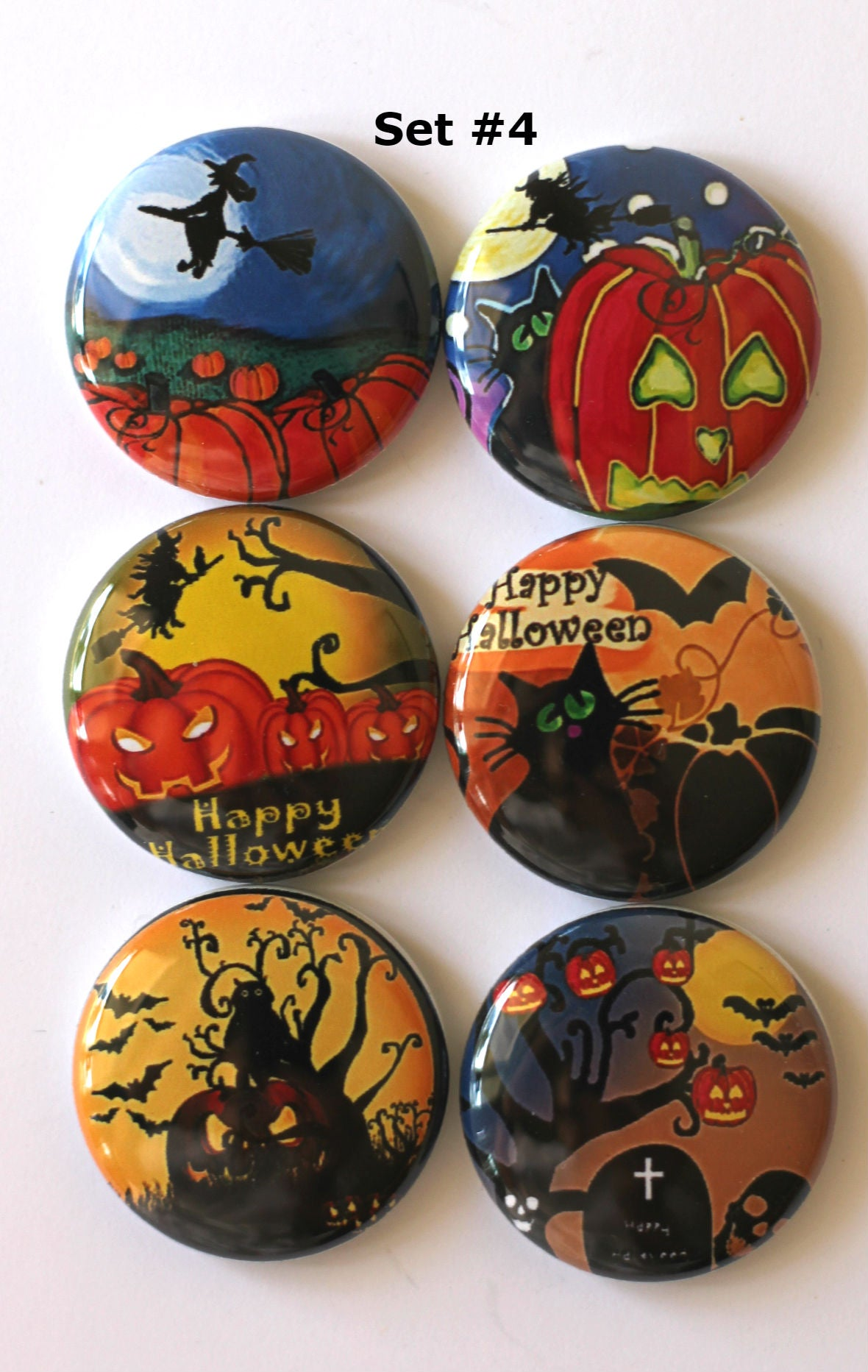 Image of Halloween  Flair Buttons
