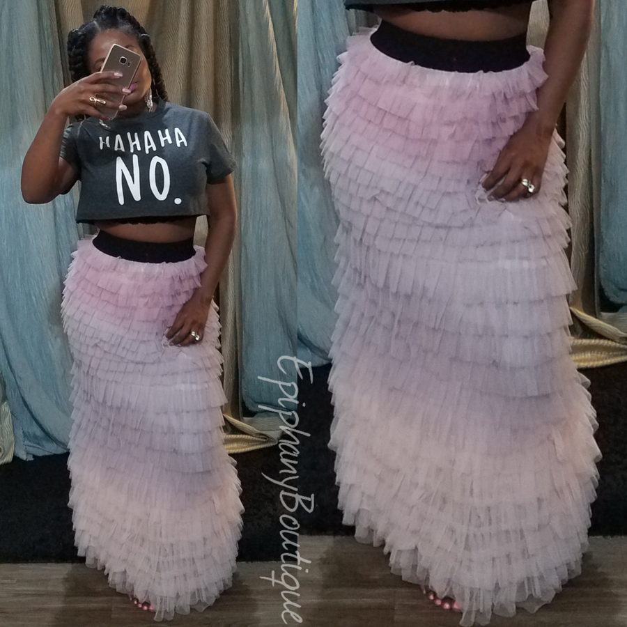 Image of The Angel Layered Skirt