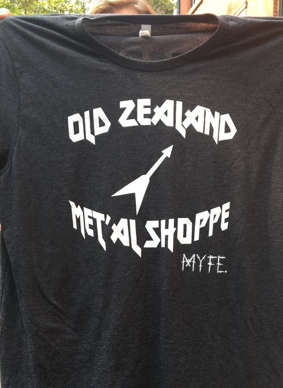 Image of EAST: Old Zealand Met'al Shoppe T-shirt