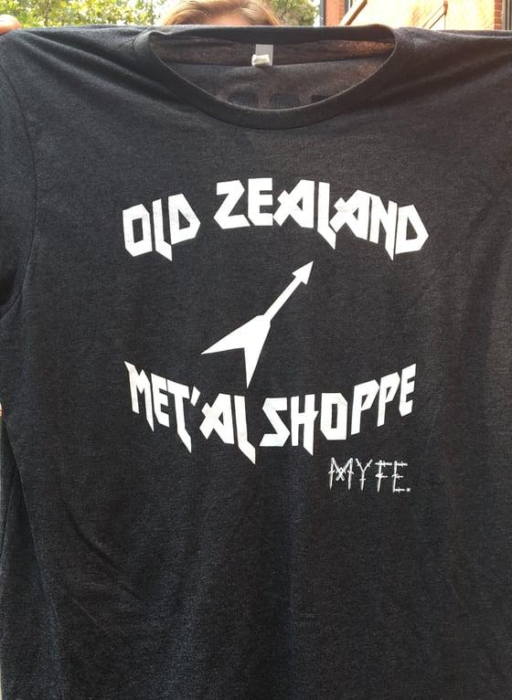 Image of EAST: Old Zealand Met'al Shoppe T-shirt