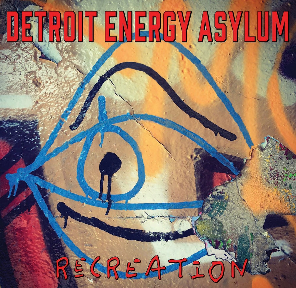 Image of DETROIT ENERGY ASYLUM - ReCREATION (EP)