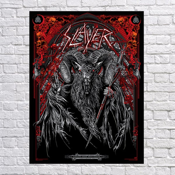 "Image of Slayer ""The Sacrament"" Engelwood, Co"