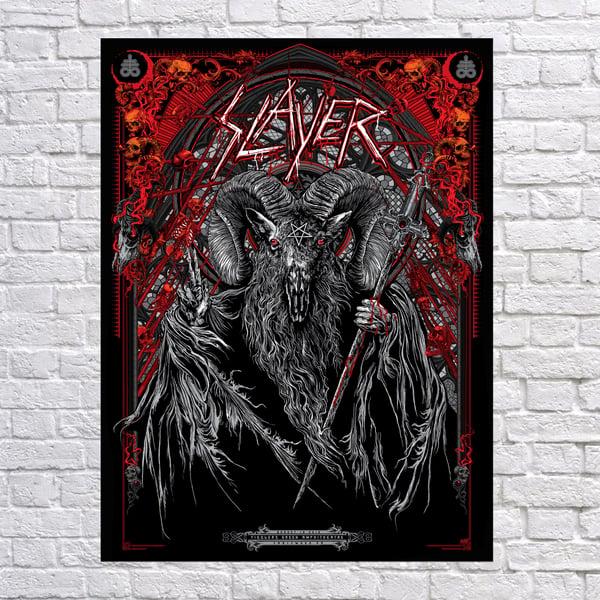"Image of Slayer ""The Sacrament"" Engelwood, Co"