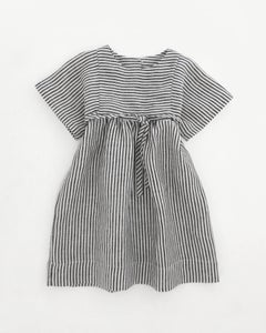 Image of olga dress- ticker stripe