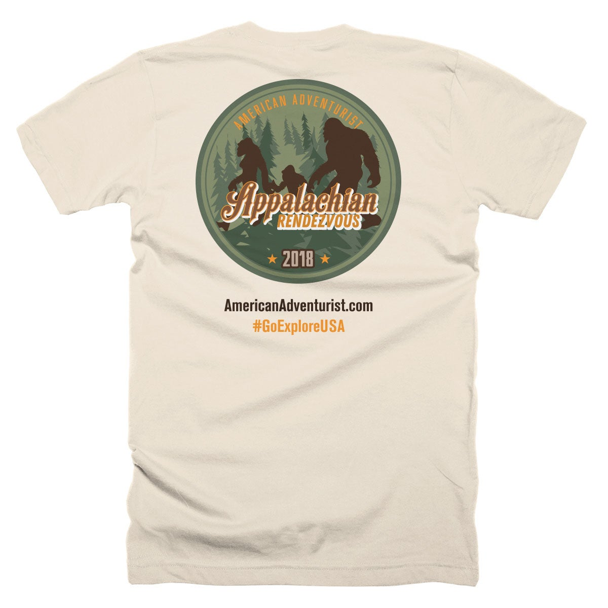 Image of 2018 Appalachian Rendezvous Tee