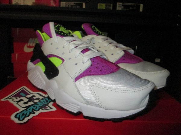 "Air Huarache Run '91 QS ""White/Neon"" - FAMPRICE.COM by 23PENNY"