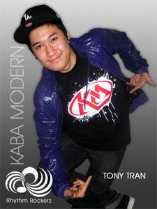 Image of Black Original Kaba Modern T-Shirt by Rhythm Rockerz