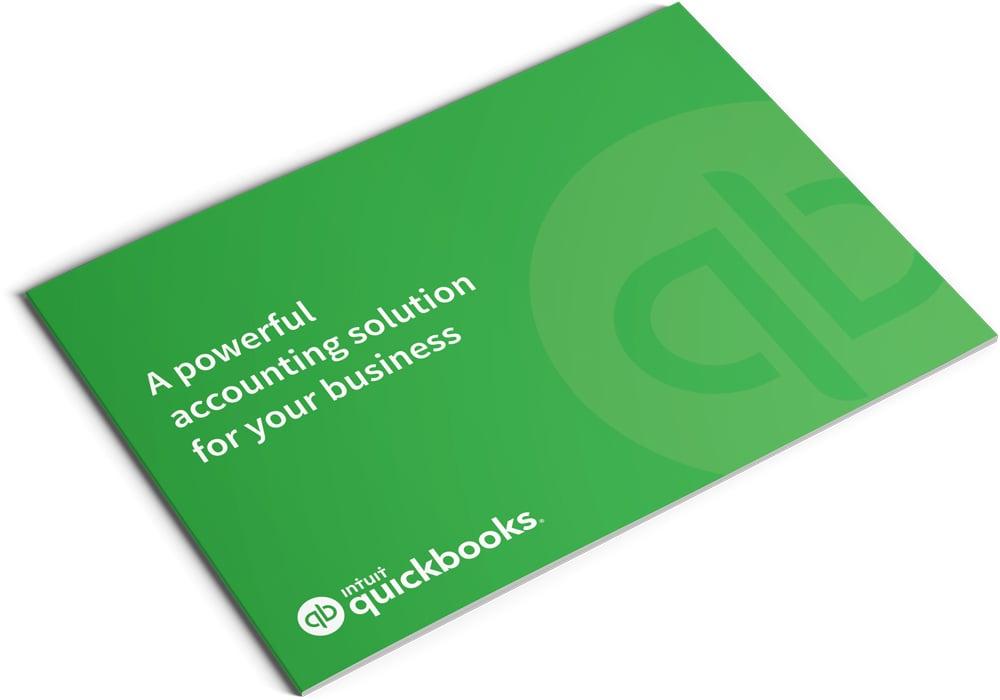 Image of QuickBooks Set Up and Training Brochure Design