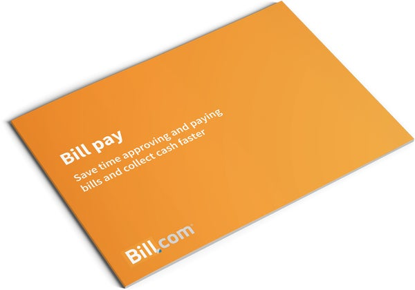 Image of Bill.com Set Up and Training Brochure Design