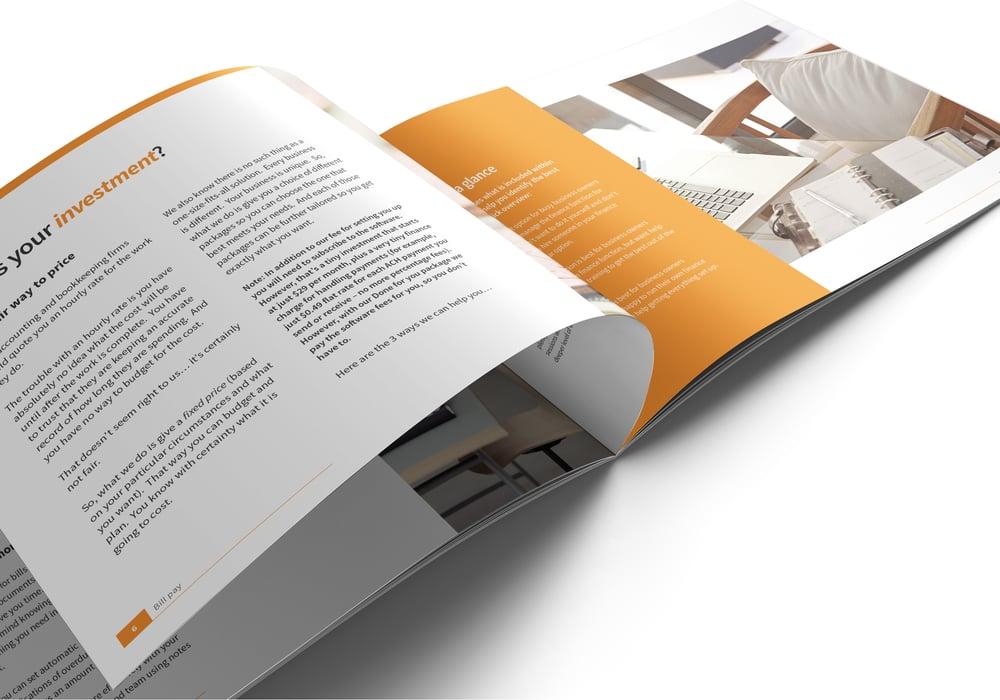 Image of Bill.com Set Up and Training Brochure Print