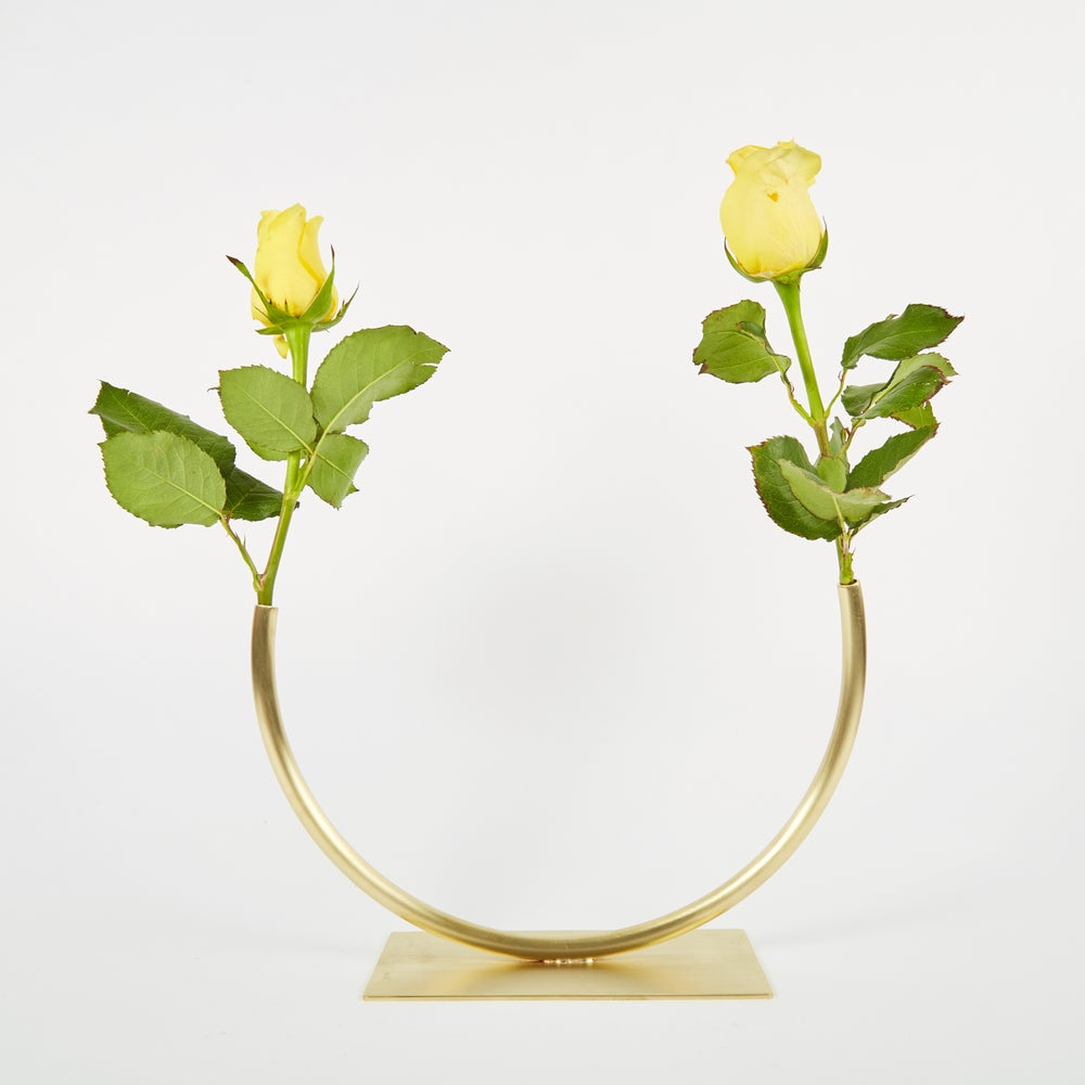 Image of Vase 676 - Glass Half Full Vase