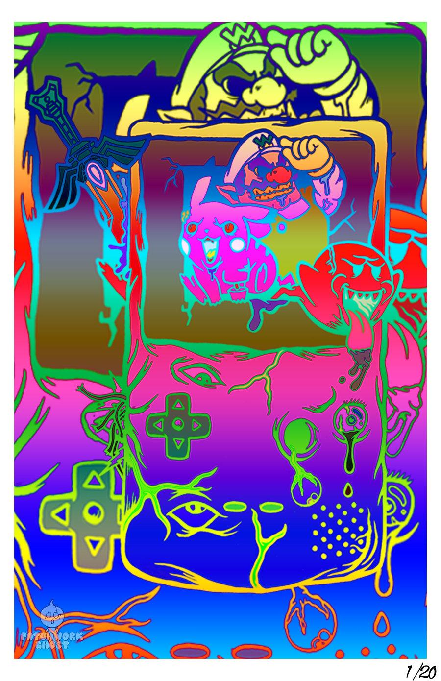 Image of Gloomboy 11X17 Print LE /20