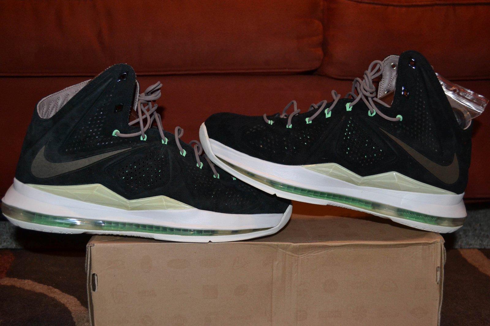 Nike Lebron 10 EXT QS: BLACK SUEDE